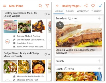 Meal Planner Android App